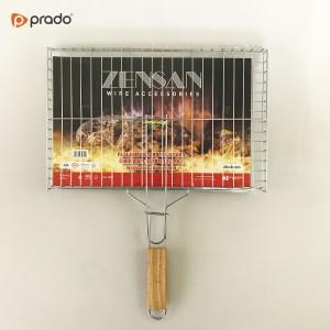 Kromirana roštiljska rešetka 25x38cm