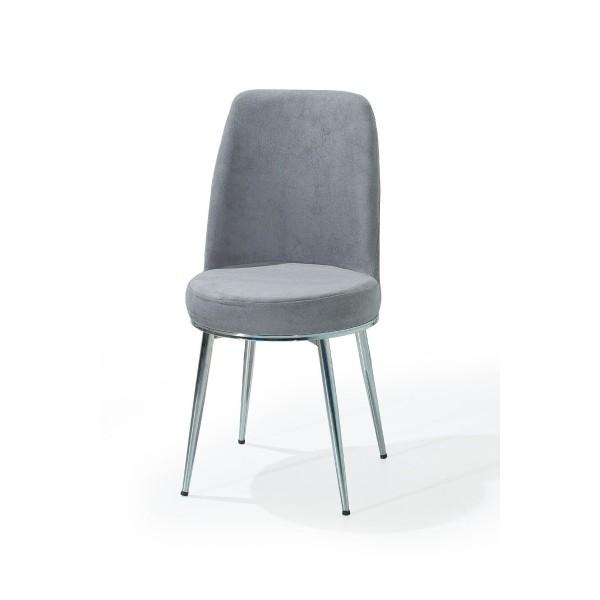 Trpezarijska stolica Gold siva
