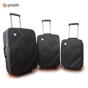 Putni kofer Zig zag, crni set