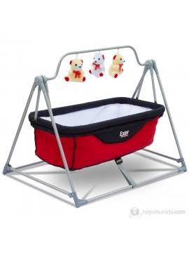 Exor Krevetić za bebe (crvena-tamnoplava)