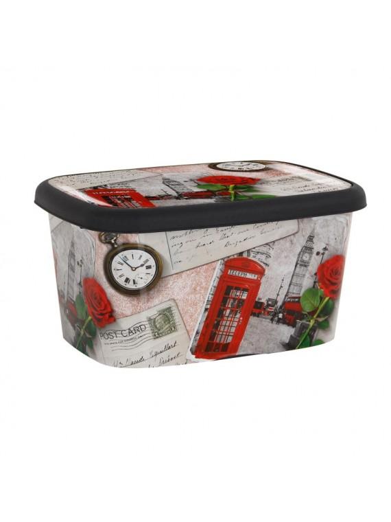 Platične kutije LONDRA set od 3 komada