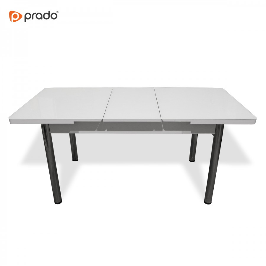 Trpezarijski sto na razvlačenje bijeli AND403
