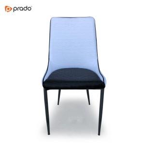 Stolica Lifos crno-bijela (eko koža)