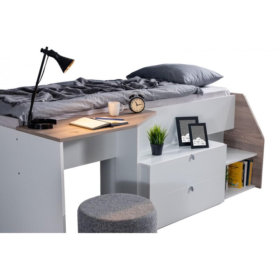 Krevet sa radnim stolom Burgaz