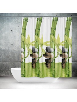 Zavjesa, paravan za kupatilo Bamboo 180x200