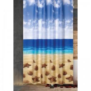 Zavjesa, paravan za kupatilo Beach 180x200
