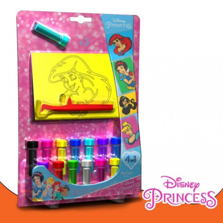 Disney set za bojenje pijeskom u  boji