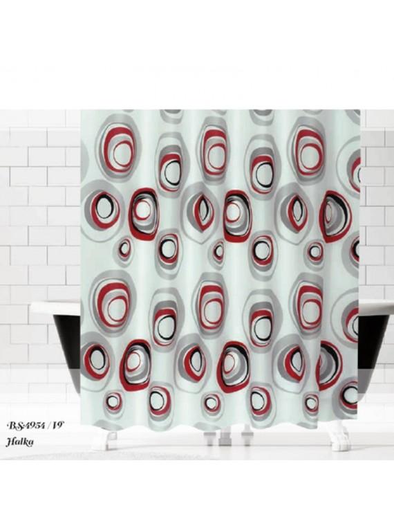 Paravan zavjesa za kupatilo Halkalar(180x200)