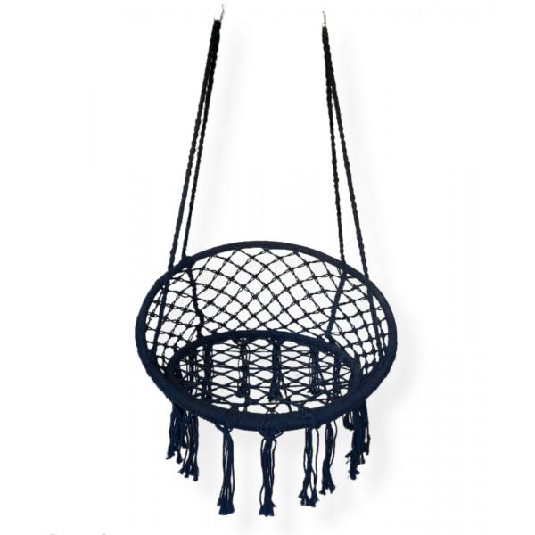 Viseća ljuljaška mreža sa naslonom 80 cm