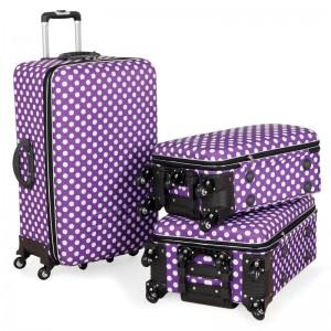 Putni kofer Malp Puantiyeli Kabartma sa 6 točkića, srednji