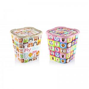 Plastične kutija Mybox, set 2 komada