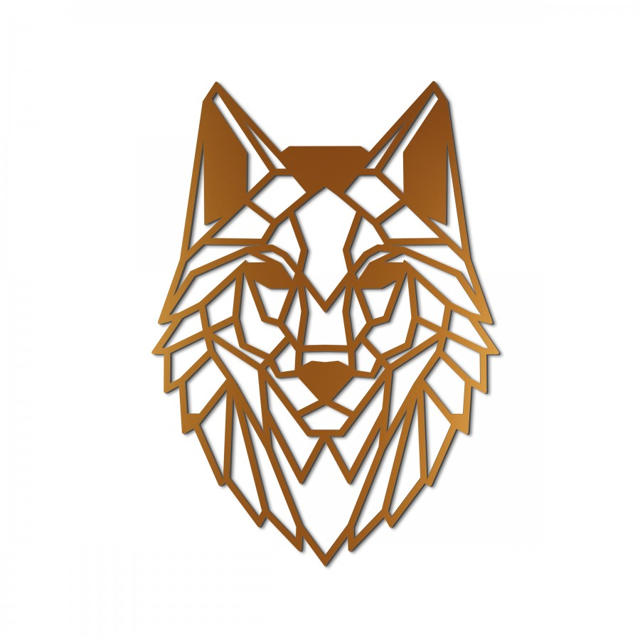 Zidna dekoracija Wolf