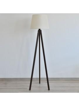 Podna lampa Deco 160 (bež/orah)