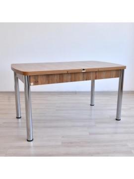 Trpezarijski sto na rasklapanje Prado orah