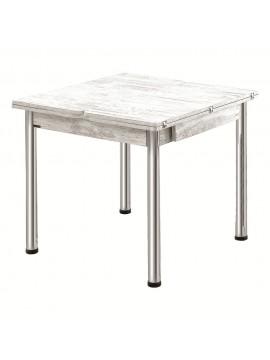 Sklopivi trpezarijski sto Elmas 08080 (antička bijela)