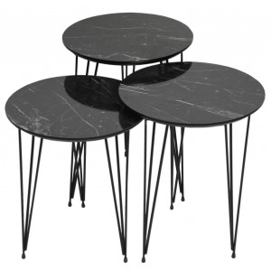 Set klub stolova Mermer