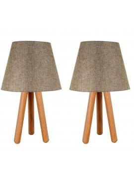 Stolna lampa Konik (smeđa)