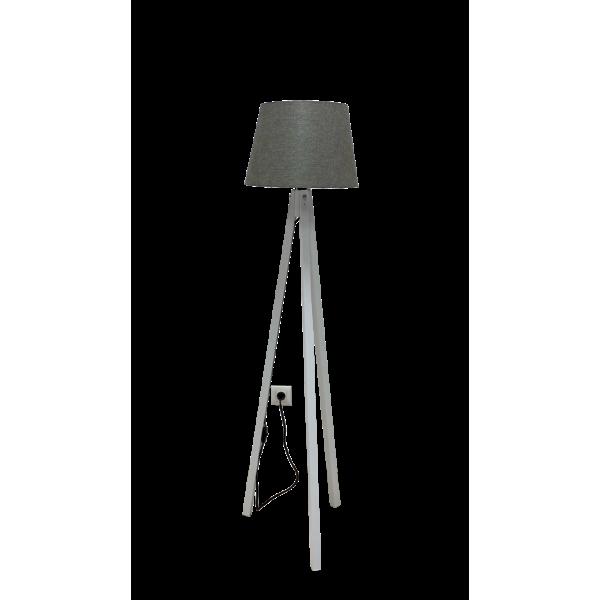 Podna lampa Deco 158 siva