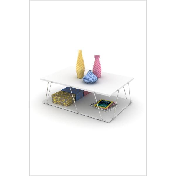 Klub stol Tars (bijela)
