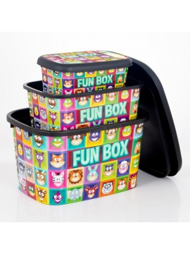 Plastična kutija Fun Box set