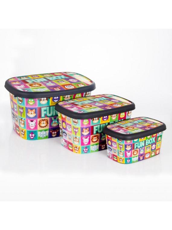 Plastična kutija Fun Box set