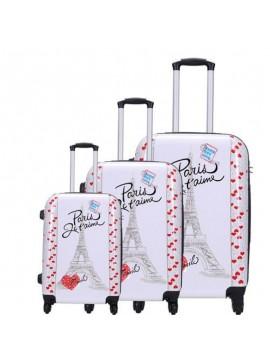Putni kofer Malp Sert Pc Pariz  srcad  (set)