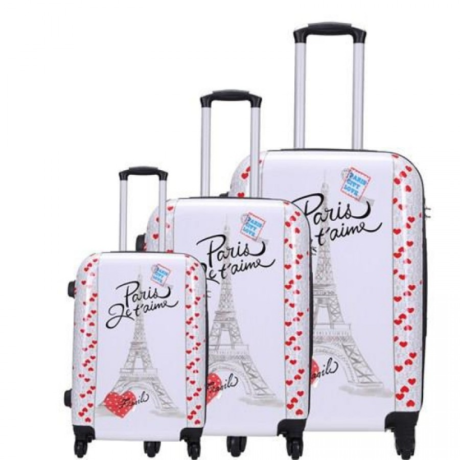 Putni kofer Malp Sert Pc Pariz  srcad  (set)