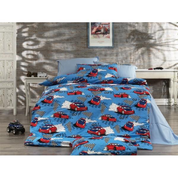Pamučna posteljina Cars 160x220
