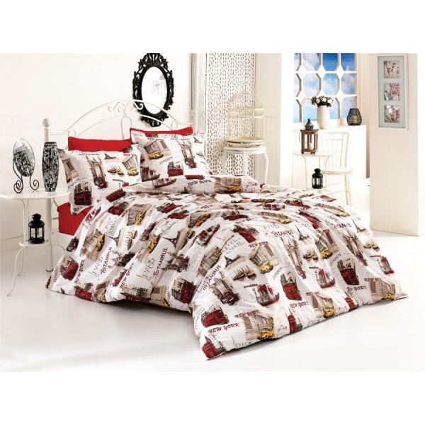 Pamučna posteljina City 160x220