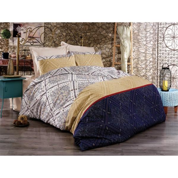Pamučna posteljina Grande blue 160x220