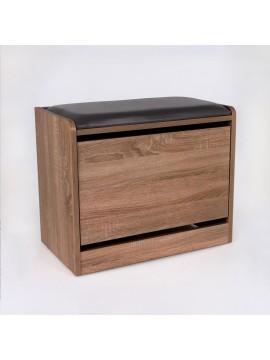 Cipelar sa prostorom za sjedenje Puflu boja oraha