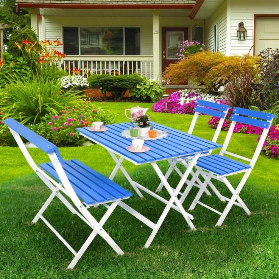 Vrtna garnitura sto, klupa i 2 stolice
