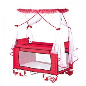 Krevetić za bebe Park (crvena)