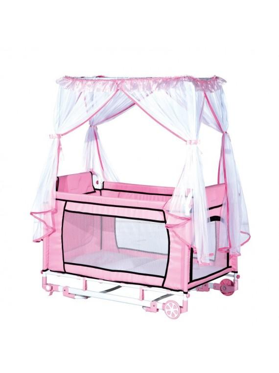 Krevetić za bebe Park (roza)
