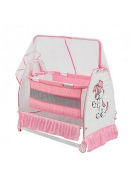 Moderna bešika/krevetić za bebe Buse (roza)