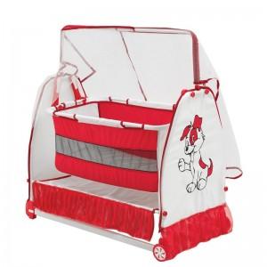 Moderna bešika/krevetić za bebe Buse (crvena)
