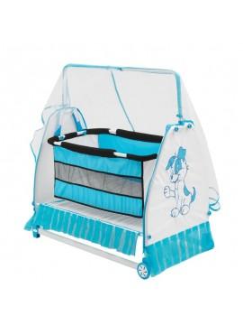Moderna bešika/krevetić za bebe Buse (plava)