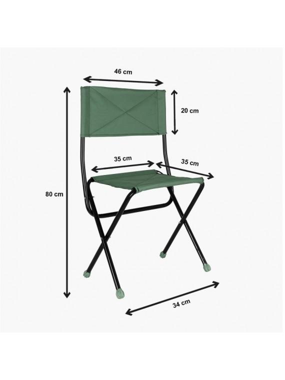 Prado ribarski set za kampovanje sto i stolice sa torbom zeleni