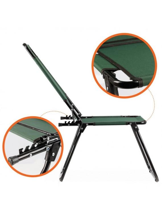 Preklopiva Stolica za piknik i kampovanje (zelena)