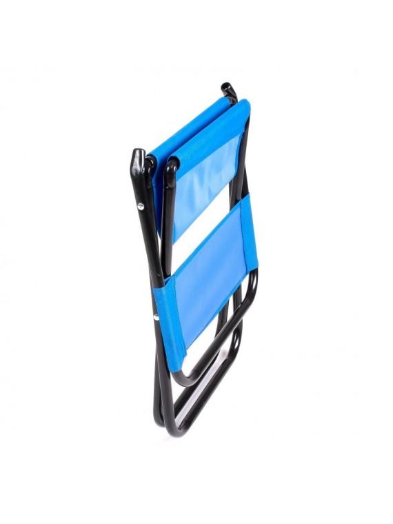 Preklopivi Tabure sa naslonjačem (tamno plava)