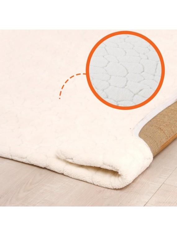 Prado Wellsoft Prekrivač za tepih Crack bijeli 150x230