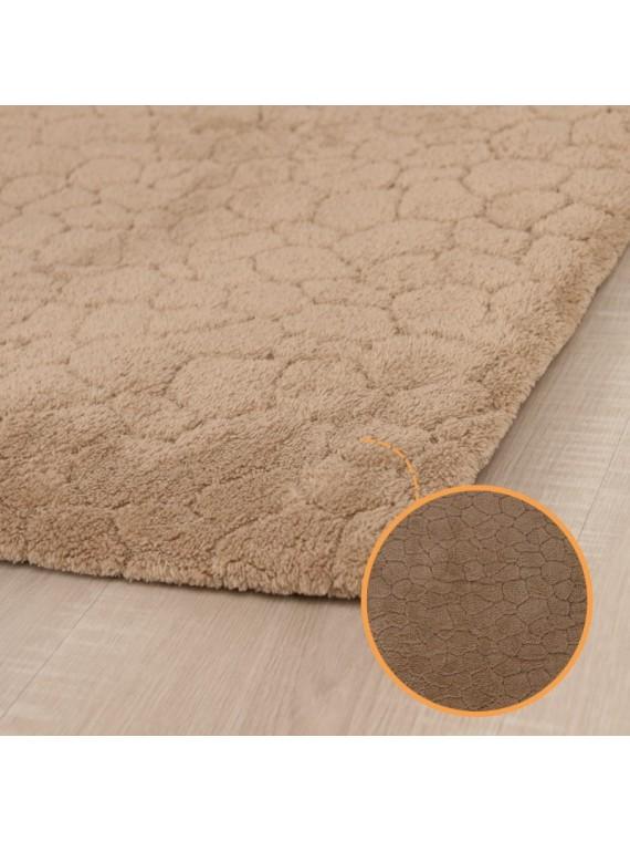 Prado Wellsoft Prekrivač za tepih CRACK smeđi 150x230