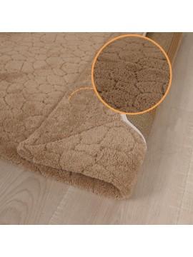 Wellsoft Prekrivač za tepih CRACK smeđi 160x230