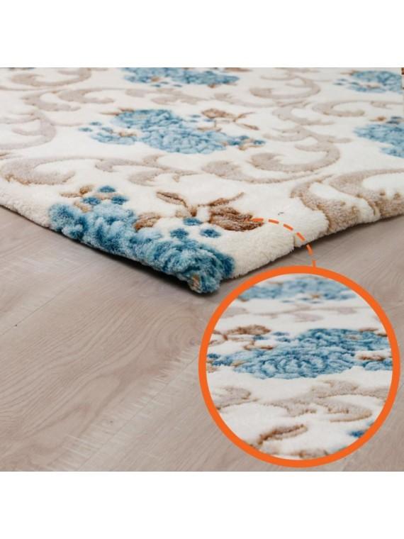 Prado Wellsoft Prekrivač za tepih Flower 150X230