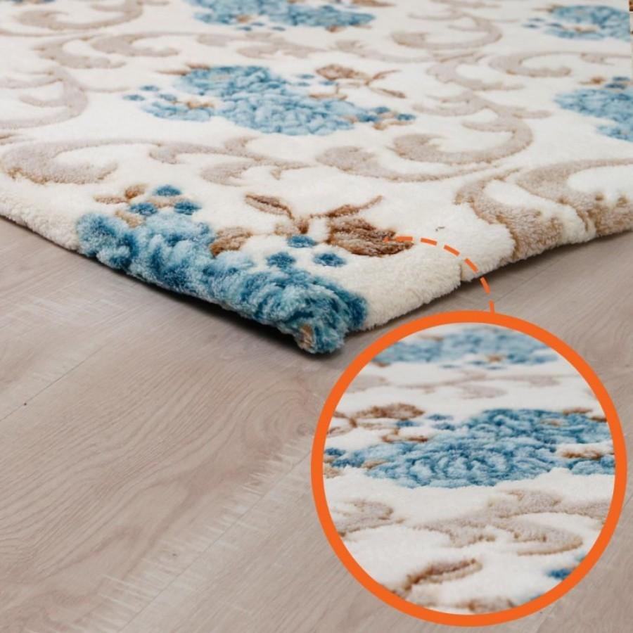 Prado Wellsoft Prekrivač za tepih Flower 200x300