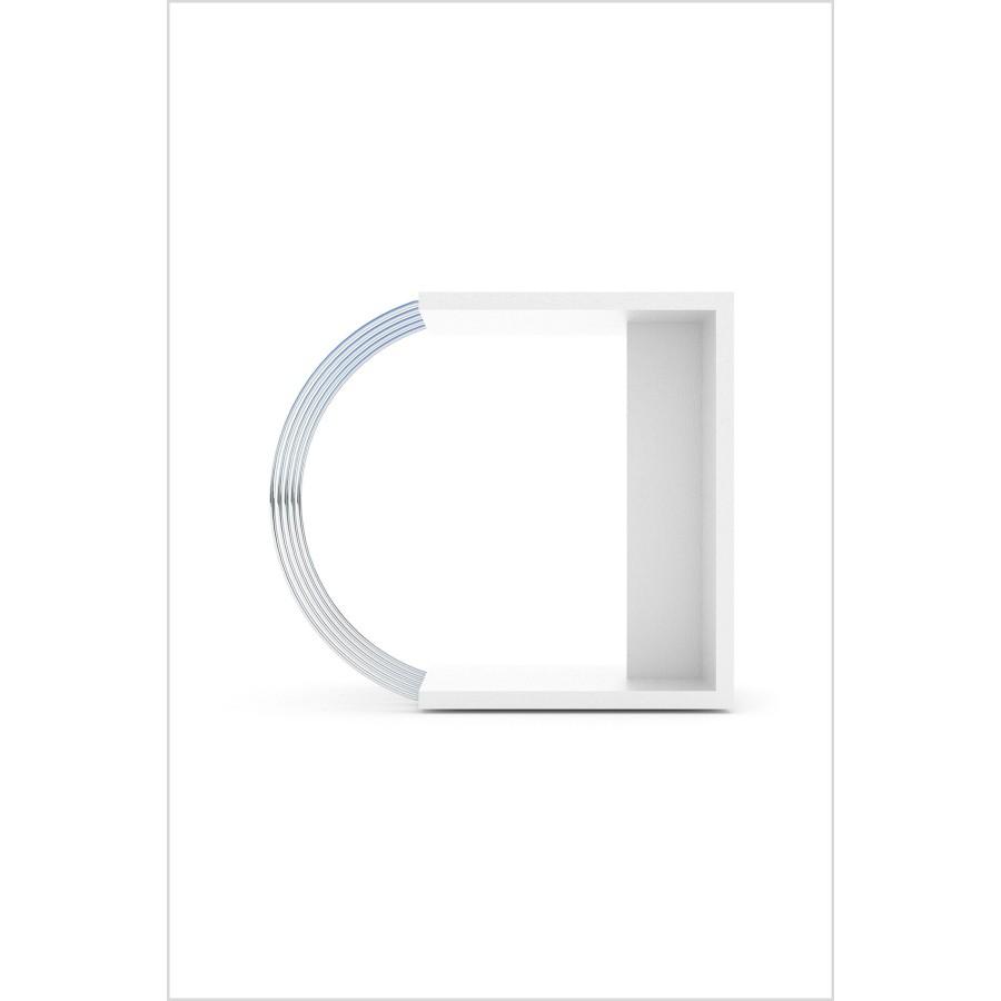 Pomoćni sto Case (bijela)
