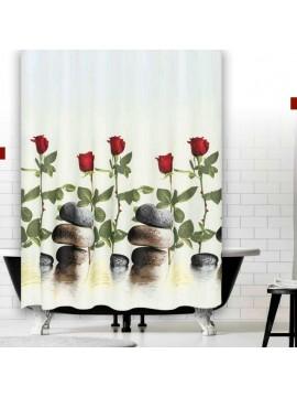 Zavjesa za kupatilo Red Rose 180x200