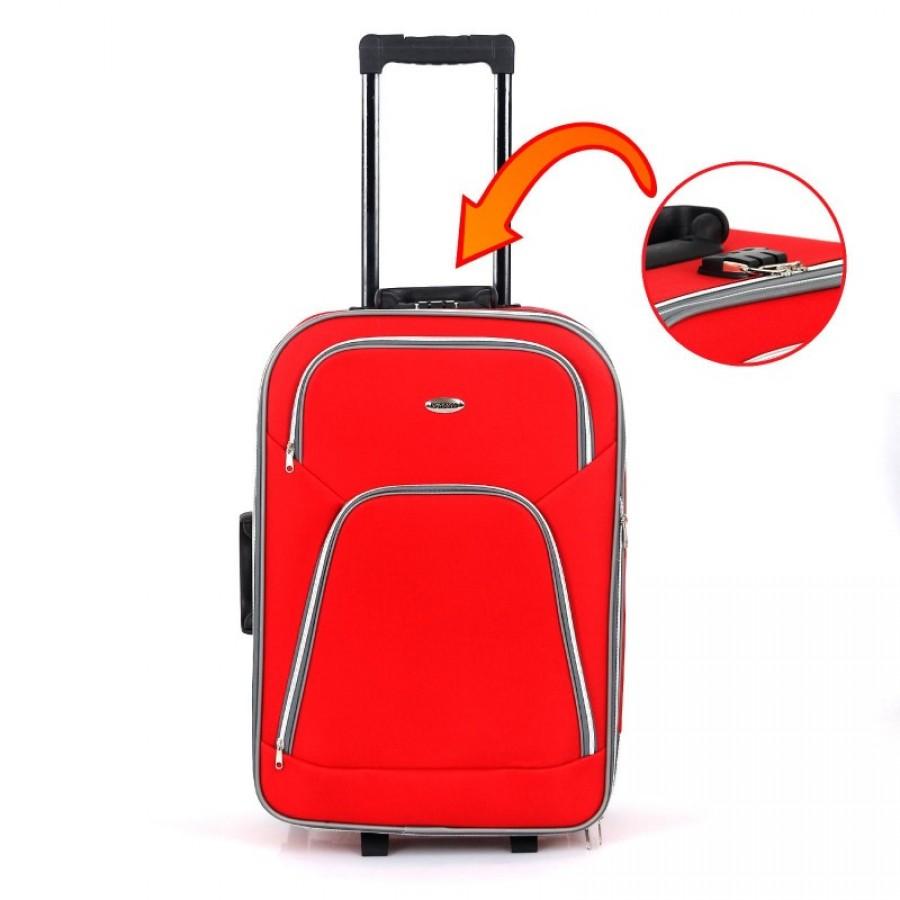 Putni kofer Rumman crveni (set)