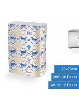 Ubrus za ruke ULTRA-Senta 23x23 cm 12 pakovanja