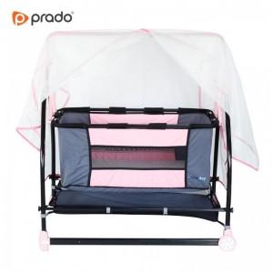 Moderna bešika/krevetić za bebe Asude (roza)